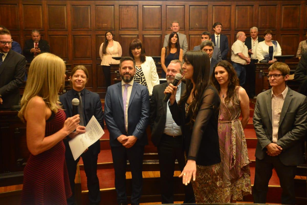 Asumen los Senadores: por quinta vez, Jaliff fue designado Presidente Provisional de la Cámara Alta de Mendoza